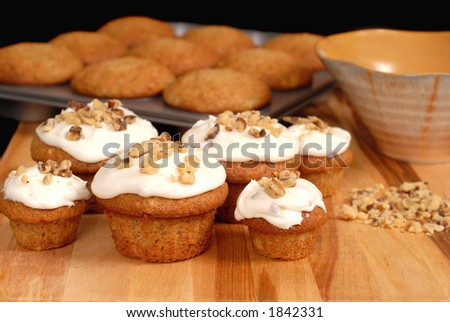 Frosted muffin recipes