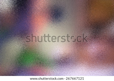 frosted glass texture colorful