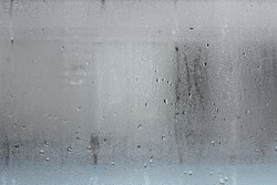 Frosted glass texture. Light background.