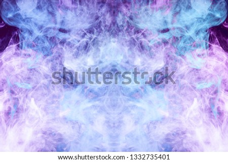 Safety Stock Frozen Abstract Movement Of Explosion Smoke