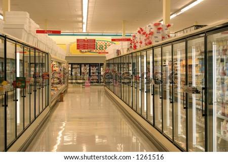 Frozen Foods Aisle
