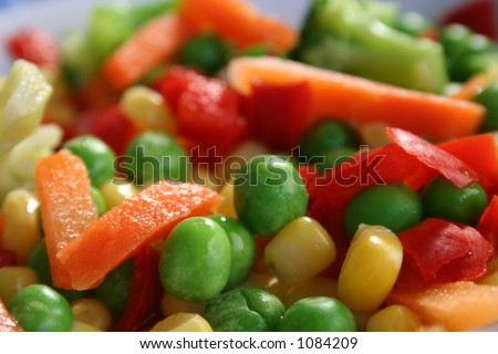 frozen mixed veg