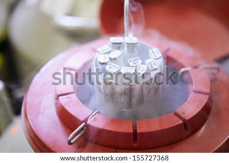 Frozen Storage At Sperm Bank