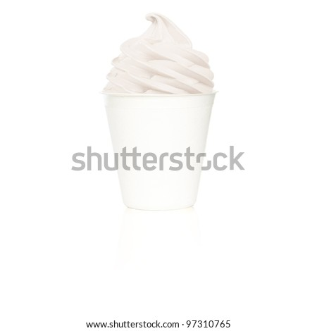 Frozen Yogurt plain small cup