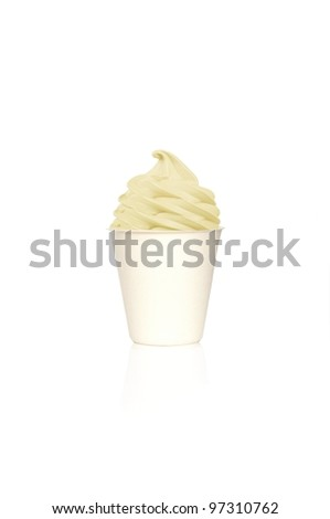 Frozen Yogurt Vanilla small cup