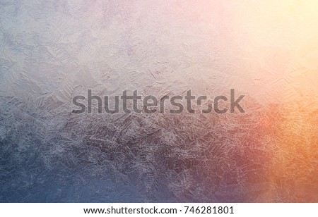 frozenned glass, Ice on window,winter icy  cristmas  patterns