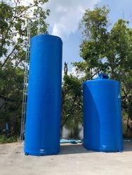 FRP Water tank fiberglass CYLENDER TWO TANK SIZE