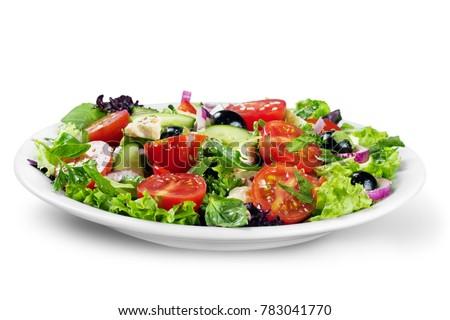 Frsh greek salad