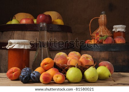 Fruit and brandy
