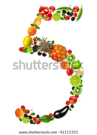 Fruit and vegetable No. 5