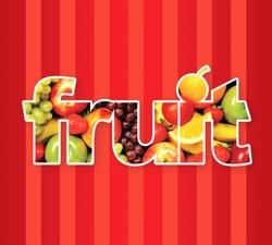 Fruit art texture