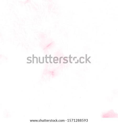 Fruit Artistic Dirty Painting. Blooming Sakura. Blush Sakura Petals. Pink Spotted Batic Silk Cloth. Rose Tie Dye Effect. Wedding Pattern. Salmon Vintage Rustic Pattern. Coral Bleach Dyeing.