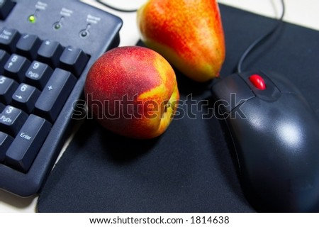 Fruit at the workplace