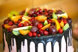 Fruit cake.