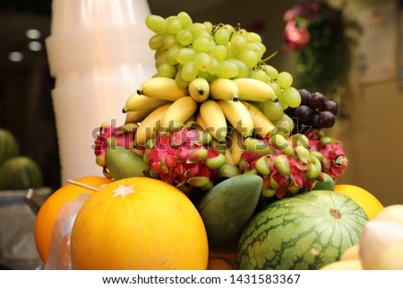 Fruit combination, fruit platter,ginseng fruit #1431583367