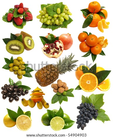 Fruit for all tastes - stock photo