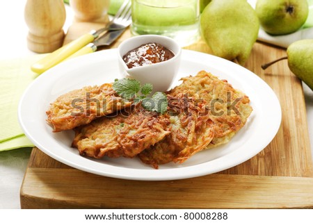 fruit fritters