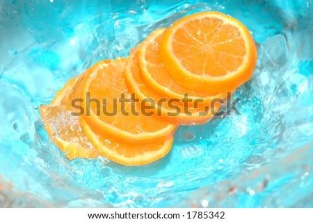 Fruit in water #1785342