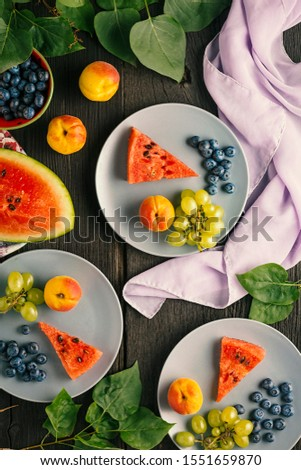 Fruit is the basis of healthy nutrition, a source of vitamins and nutrients.
