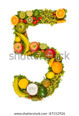 "Fruit number ""5"""