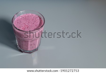 Fruit shake. Healthy diet concept Foto stock ©