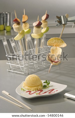 Fruit Skewers in the Lab