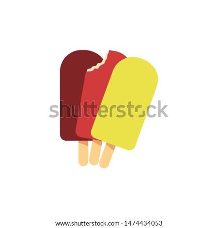 Fruit Split Ice Lollies - Raspberry, Strawberry, Lemon