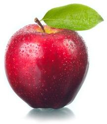 Fruit the fresh tasty, an apple .