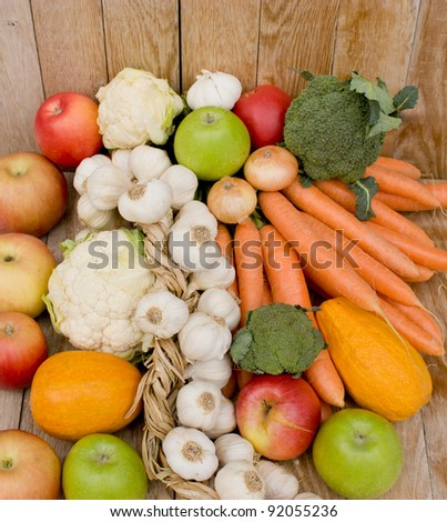 Fruits and vegetables are the basis of healthy eating