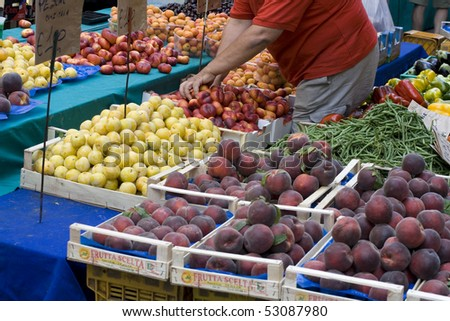 Fruits at marketplace
