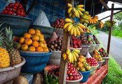 Fruits stall, Bali