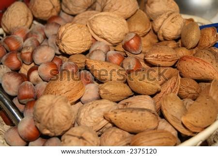 frutos secos Foto stock ©