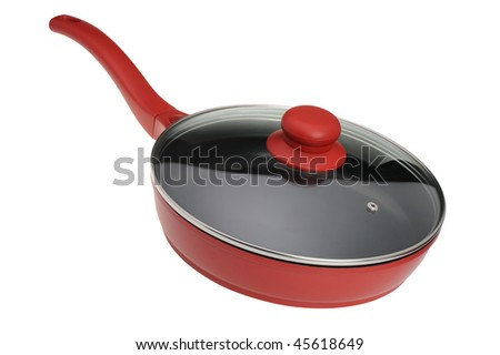 Frying pan - kitchen utensils It is isolated on a white background