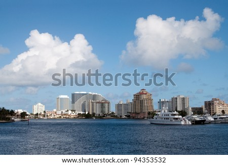 Ft Lauderdale waterfront