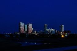 Ft Worth Tx skyline
