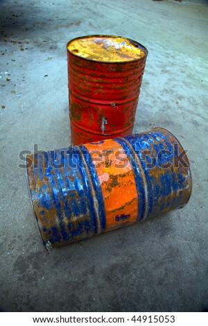 Fuel Barrels! - stock photo