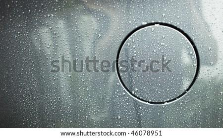 Fuel Cap with raindrops