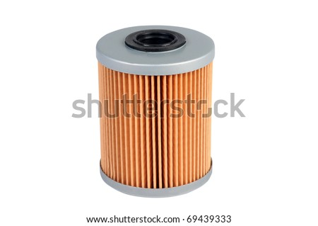 fuel filter, auto spare part, clipping path