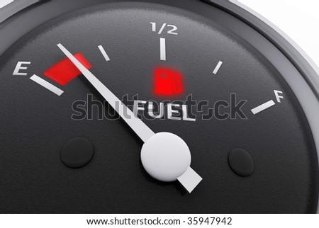 Fuel Gauge - Low Fuel