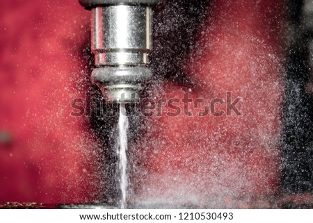 fuel injector in action