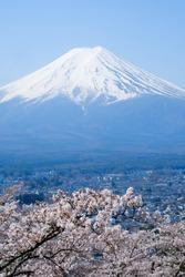 Fuji mountain, The landmark of Japan