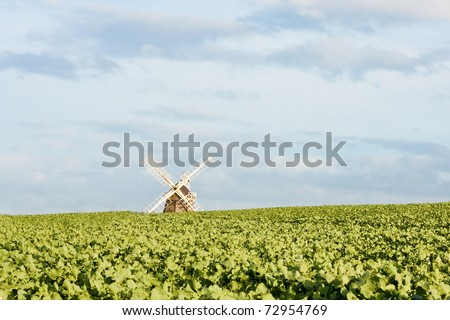 Fulbourn windmill in Cambridgeshire, England