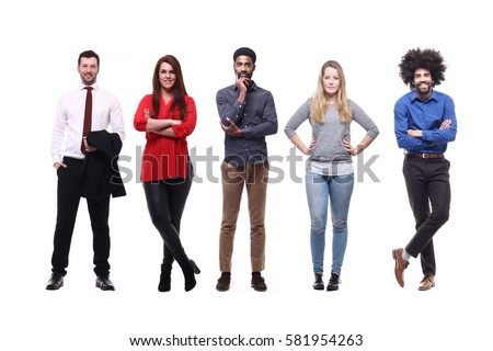 Full body people
