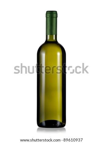 Full bottle of white wine