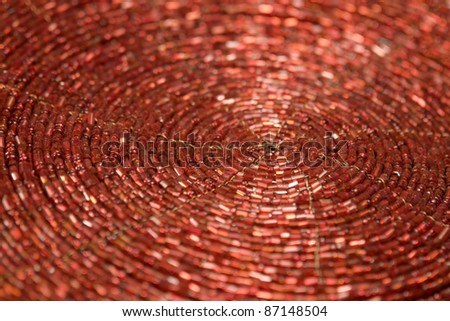 full frame abstract spiral background