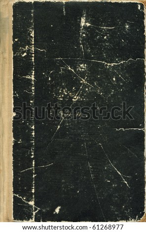 full frame Old book cover