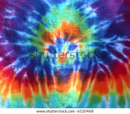 full frame view of tie dye clothing