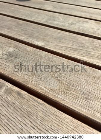 Full Frame Wood Plank Texture  #1440942380