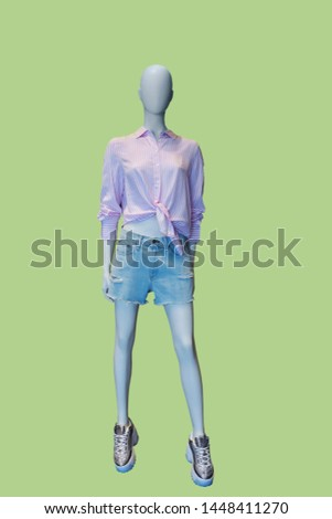 Female Mannequin Doll On White Background Images and Stock