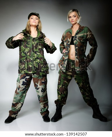 Army clothes for women Clothing stores